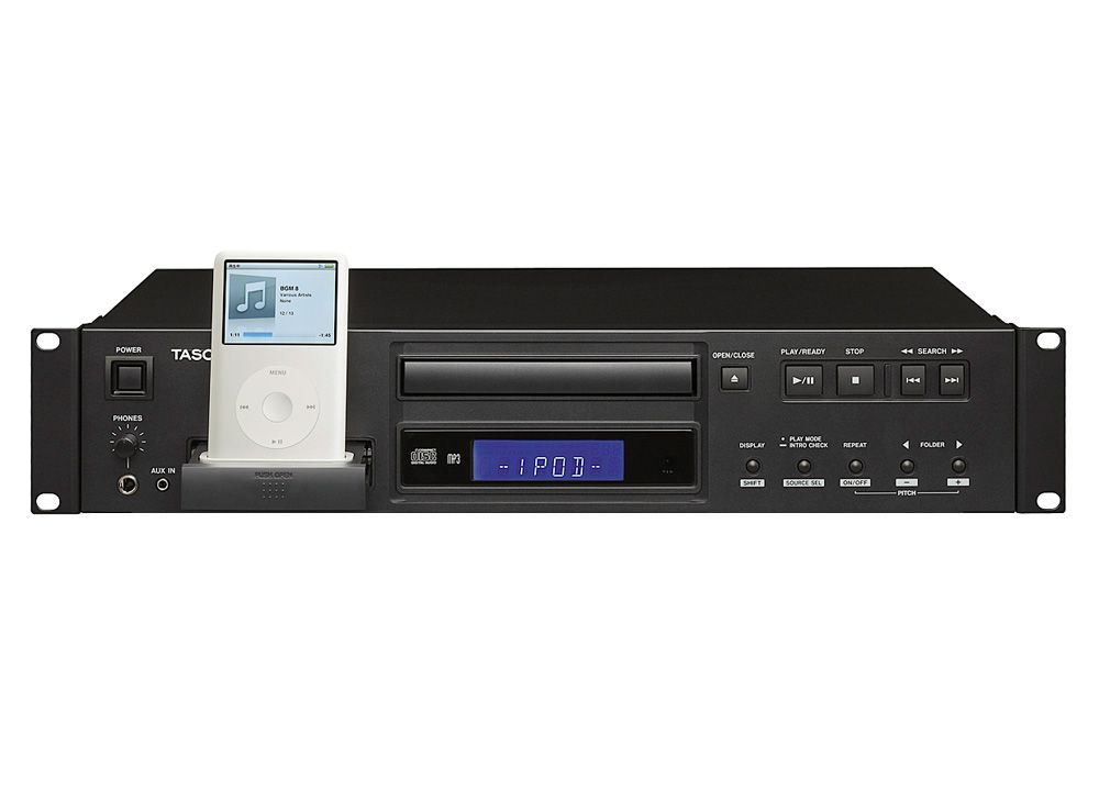 lecteur cd rackable cd mp3 dock ipod audionysos. Black Bedroom Furniture Sets. Home Design Ideas